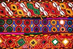 Etniskt Rajasthan bälte Arkivfoton
