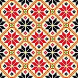 Etno ornamet Ukrainsk vyshyvka Ukrainsk prydnad royaltyfri illustrationer