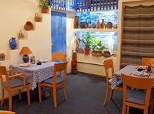 Etno restaurant Royalty Free Stock Image