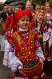 Etnofestival Bobovischanske Grono-2016 in Zakarpattya region Stock Images