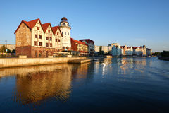 Etnograficzny i handlowy centrum Kaliningrad Fotografia Royalty Free