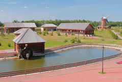 Etnograficzny muzeum chleb Bulgar, Rosja Fotografia Royalty Free
