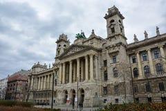 Etnograficzny muzeum w Budapest, Węgry fotografia royalty free