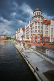 Etnografisch en handelscentrum Kaliningrad Royalty-vrije Stock Afbeeldingen