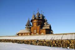 Etnografische museum-Reserve Kizhi Royalty-vrije Stock Fotografie