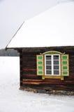 Etnographic window Stock Photo