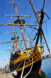Etoile du roy, privateer ship Royalty Free Stock Images
