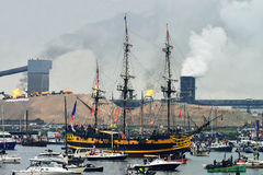 The Etoile du Roy ship from France Stock Photos