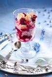 Eton bałagan z cranberry obrazy royalty free