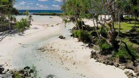 Eton Beach, Efate Island, Vanuatu, near Port Vila - famous beach, the east coast. Eton Beach, Efate Island, Vanuatu, near Port Vila - famous beach on the east stock video footage