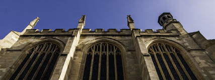 Eton College Chapel. From a different angle Royalty Free Stock Images