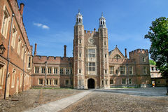Eton college. Courtyard,oxford,england Royalty Free Stock Photography