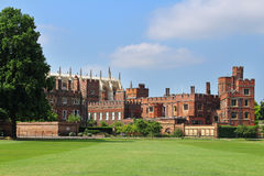 Eton College Public School. Part of Eton College viewed from the Playing fields Royalty Free Stock Photo