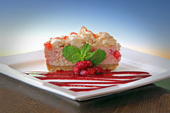 Eton mess cake Stock Photography