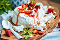 Eton mess Stock Photos