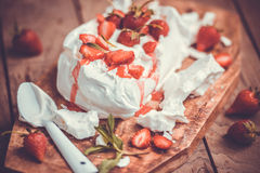 Eton mess Royalty Free Stock Images