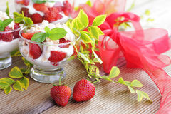 Eton mess Stock Image