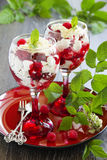 Eton mess Royalty Free Stock Photo