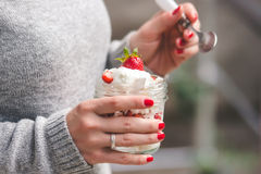 Eton mess Stock Images
