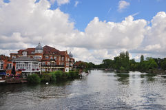 ETON AND RIVER THAMES Royalty Free Stock Images