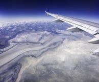 Etosha от 30.000 футов Стоковая Фотография RF