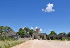Etosha camping site Okaukuejo, Namibia Royalty Free Stock Photos