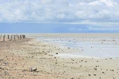 Etosha Pan lake on Etosha National Park, Namibia royalty free stock images