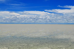 Etosha pan,Namibia. Etosha central pan in biggest game reserve in Namibia Stock Photography