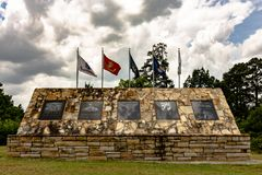 Etowah County Kriegs-Denkmal Stockfotos