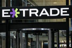 ETrade-Niederlassung in Manhattan Stockbild