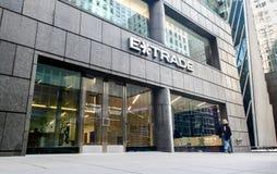 ETrade-Niederlassung in Manhattan Lizenzfreie Stockfotografie