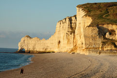 Etretat beach Stock Photo