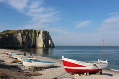 Etretat. Royalty Free Stock Image