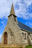 Etretat, Chapel of Notre-Dame de la Garde Stock Photos