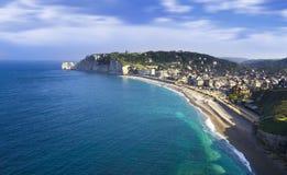 Etretat cliff France Royalty Free Stock Photos