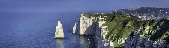 Etretat cliff France Royalty Free Stock Photography