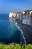 Etretat cliff France Stock Photography