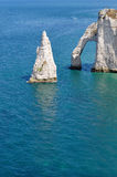 Etretat Cliffs Stock Photography