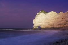 Etretat cliffs, France Stock Photography