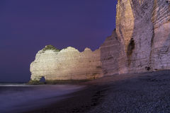 Etretat cliffs, France Royalty Free Stock Photography