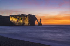Etretat cliffs, France Royalty Free Stock Photo