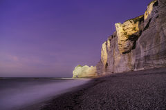 Etretat cliffs, France Royalty Free Stock Image