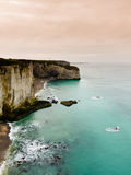 Etretat cliffs, Normandy Stock Image