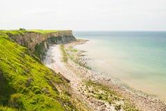 Etretat Cliffs and Rocks Royalty Free Stock Photos