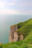 Etretat, cliffs Stock Image