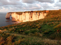 Etretat Coast Stock Photo