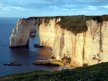 Etretat Coast Royalty Free Stock Photos
