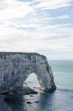 Etretat Coast in Normandy Royalty Free Stock Photo