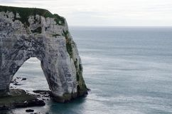 Etretat Coast in Normandy Royalty Free Stock Images