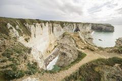 Etretat coastline Royalty Free Stock Image
